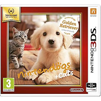 Nintendo Selects Nintendogs  Cats (Golden Retriever  New Friends)