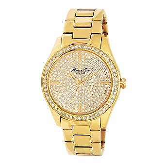 Kenneth Cole New York vrouwen pols horloge analoge roestvrijstaal KC4957