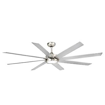 Energy-saving ceiling fan Century Nickel 165cm / 65