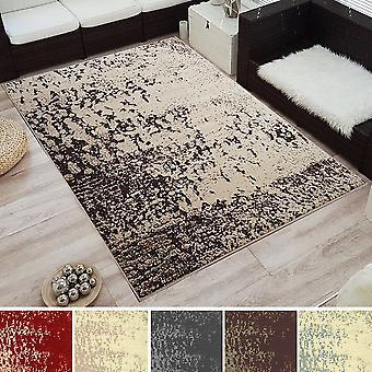 «Modern design korte Fawaz tapijt» borstel «gespot».