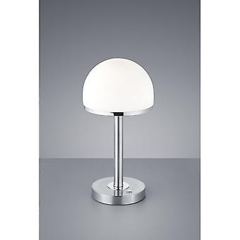 Illuminazione Lampada da tavolo di Berlino moderna nichel metallo Matt Trio
