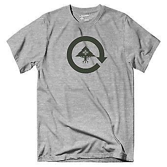LRG Cycle Logo T-Shirt Ash Heather