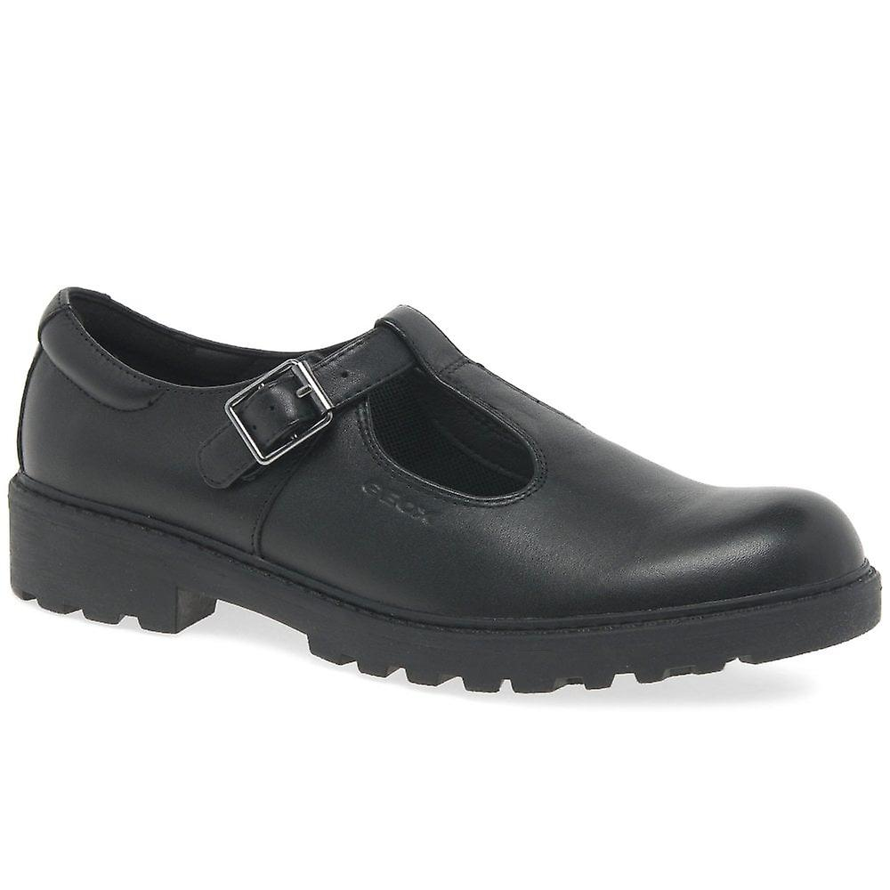 Chaussures Geox Junior Casey en forme de t école de filles de Senior