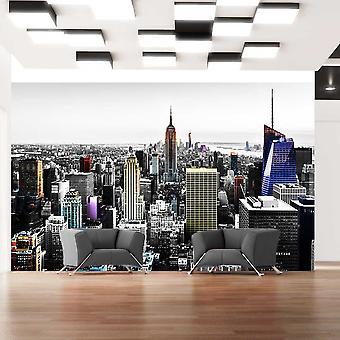 Wallpaper - Iridescent skyscrapers