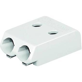 WAGO Openspringende terminal aantal pinnen 2 White 1 PC('s)