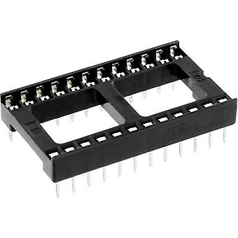 econ connect ICF 28 IC socket Contact spacing: 15.24 mm Number of pins: 28 1 pc(s)