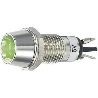 SCI LED indicator light Green 6 Vdc R9-115L 6 V GREEN