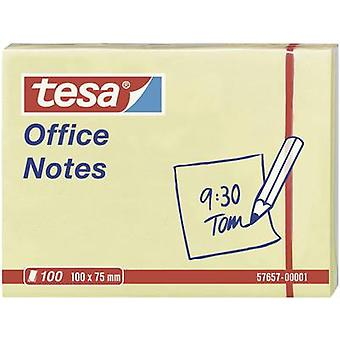 Tesa® Office Notes 100 Sheets, Yellow 100 x 75 mm