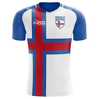 2018-2019 Faroe Islands Home Concept Football Shirt (Kids)