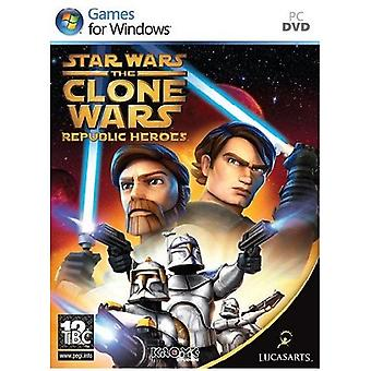 Star Wars Clone Wars Republic Heroes PC spelet
