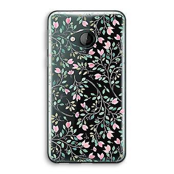HTC U spela Transparent fodral (Soft) - nätta blommor