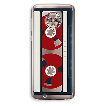 Motorola Moto G6 Transparent Case (Soft) - Here's your tape