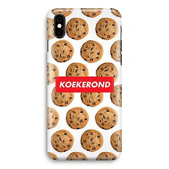 iPhone XS Full Print Case (Glossy) - Koekerond