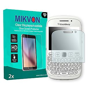 BlackBerry Curve 9320 Screen Protector - Mikvon Clear (Retail Package with accessories)