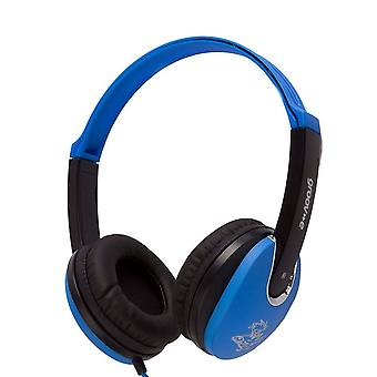 Groov-e GV590BB Kids DJ Style Children's Headphone - Blue/Black