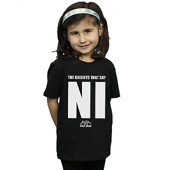 Monty Python Girls Knights Who Say NI T-Shirt