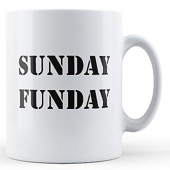 Niedziela Funday - kubek z nadrukiem