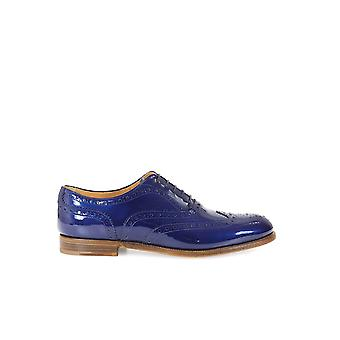 CHURCH'S BURWOOD 3 W LACE UP ROYAL PATENT