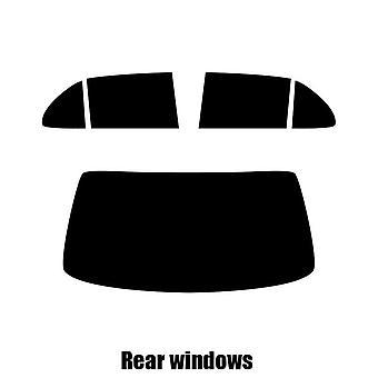 Pre cut window tint - Bentley Mulsanne - 2009 to 2016 - Rear windows