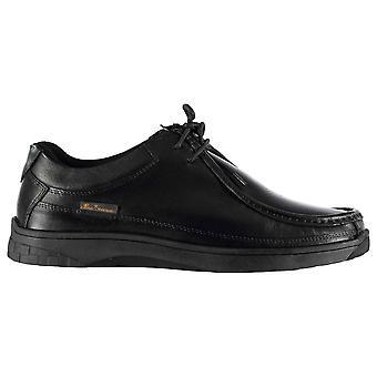 Ben Sherman Ferdy hombres zapatos Moc Toe con encaje costura Tonal