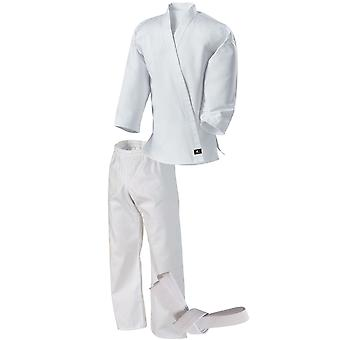Century Kid's 7 oz. Middleweight Student Uniform with Elastic Pant - White