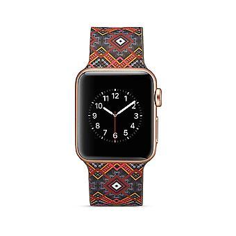 Klockrem in silicone per Apple Watch 4 40 mm, 1/2/3 38 mm-unici fiori