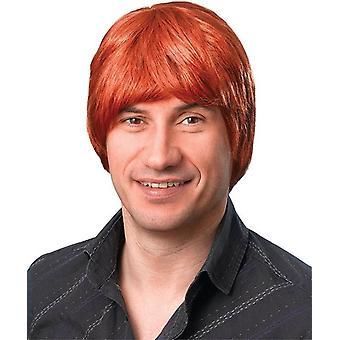 Male Wig. Short. Ginger.