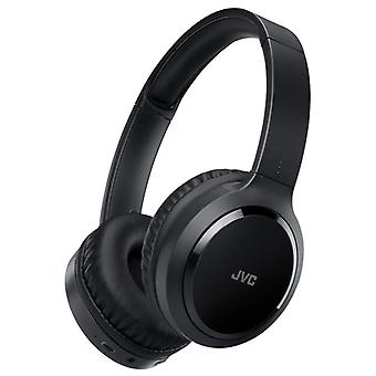 JVC HAS80BNBE Precision Sound Bluetooth Headphones with Noise Cancelling - Black