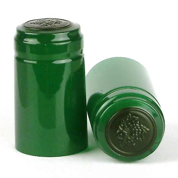 Shrink Capsules - Green - 1000x