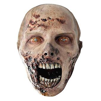 The Walking Dead Zombie-Party-Karte Erodierten Gesichtsmaske