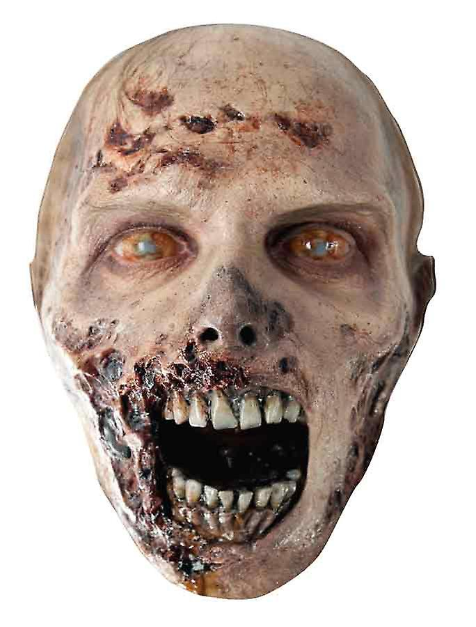The Walking Dead Eroded Zombie Party Card Face Mask
