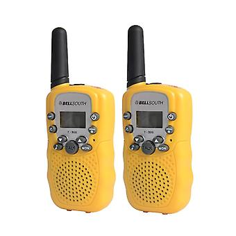 T-388 Walkie Talkie Set, range 3 km-Yellow
