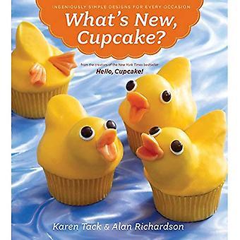 Hvad er nyt, Cupcake?: genialt enkle Designs til enhver lejlighed