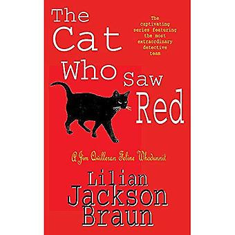 The Cat Who Saw Red (A Jim Qwilleran Feline Whodunnit)