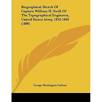 Biographical Sketch of Captain William H. Swift of the Topographical Engineers, United States Army, 1832-1849...