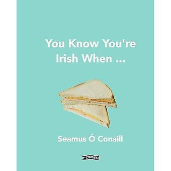 Du vet att du är irländska när...