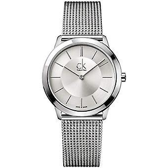 Calvin Klein women's analog Quartz Watch with stainless steel band _ K3M22126