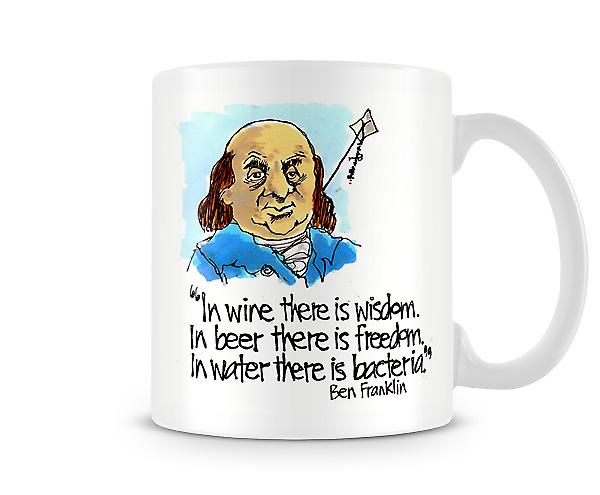 In Wine There Is Wisdom Mug