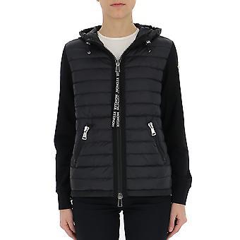 Moncler Black Polyester Down Jacket