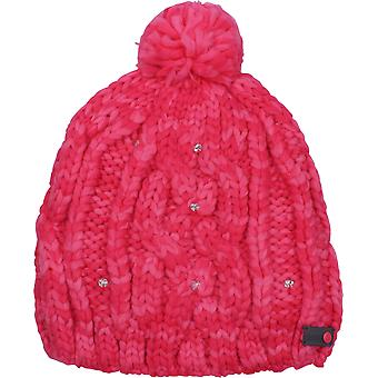 Roxy Womens Shooting Star Beanie - Teaberry Red