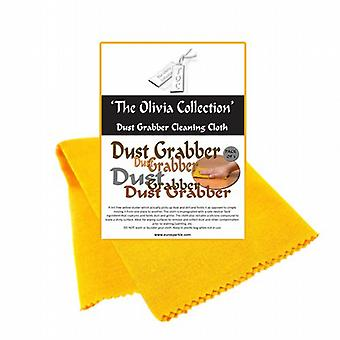 TOC Dust Grabber Cleaning & Polishing Cloths - Pack of 3  425mm x 310mm