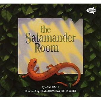 The Salamander Room - Dragonfly Books Edition by Anne Mazer - Steve Jo