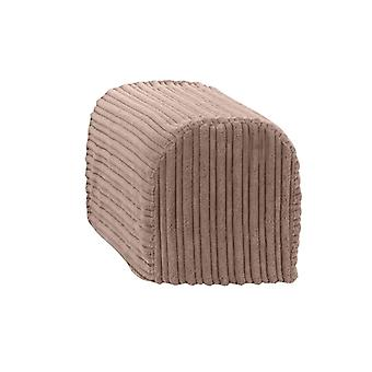 Changing Sofas® Large Size Mocha Jumbo Cord Pair of Arm Caps for Sofa Armchair