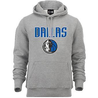 New Era Fleece Hoody-NBA Dallas Mavericks grey