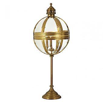 Premier hem Hampstead bordslampa, glas, järn