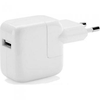 Original bulk 2x Apple MD836ZM/A USB strømforsyning 12W, rejse oplader A1401, iPhone iPad iPod
