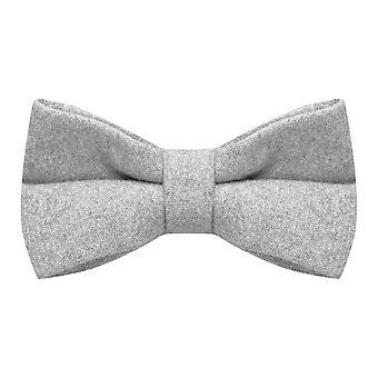 Stonewashed Medium Grey Bow Tie