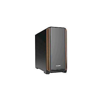 Be quiet! bg025 case midi tower atx-eatx silent base 601-7 + 2 hdd slots-1xusb 2.0-2xusb 3.0-1xaudio i/o color black orange