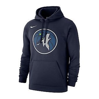 Nike NBA Minnesota Timberwolves Po fleece Klubbhuva