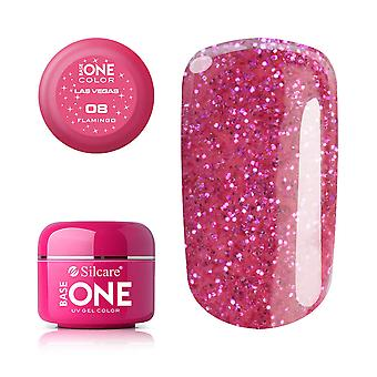 Base one Las vegas-Flamingo 5 g UV-gel